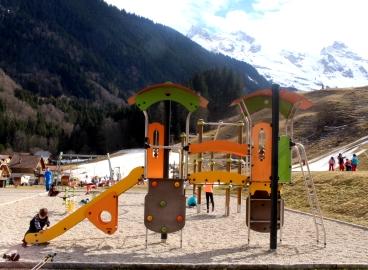 Le Reposoir - playground © montblancfamilyfun.com