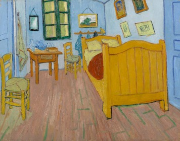 Vincent van Gogh, The Bedroom of Arles (1889) © Van Gogh Museum