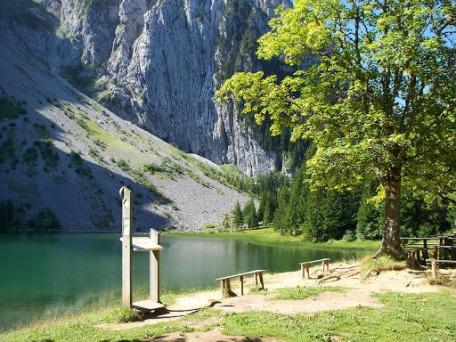 Lac Bénit © Mont-Saxonnex Tourisme