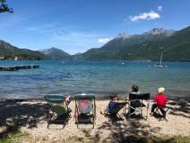 Camping du Lac Bleu (Doussard) © montblancfamilyfun.com