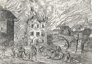 Sallanches 1840 Fire © Les Amis du Vieux Sallanches