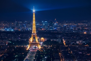 Eiffel Tower at Night ©