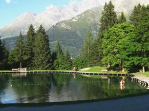 Lac de l'Étape in Les Contamines-Montjoie © montblancfamilyfun.com