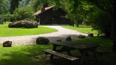 Le Parc Thermal Le Fayet © montblancfamilyfun.com