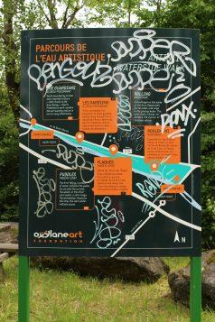 Parcours de l'Eau Artistique © montblancfamilyfun.com