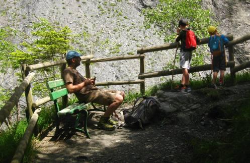 Les Gorges de la Gruvaz © montblancfamilyfun.com