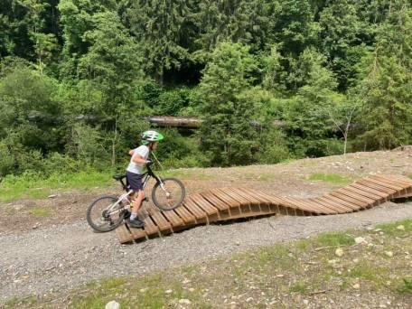 NEW bike park (Saint-Gervais) © montblancfamilyfun.com