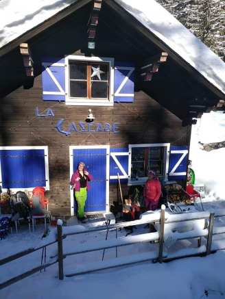Buvette de La Cascade de Bérard - wintertime! © Buvette de La Cascade de Bérard