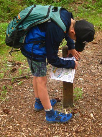 Argentière moraine parcours orientation © montblancfamilyfun.com