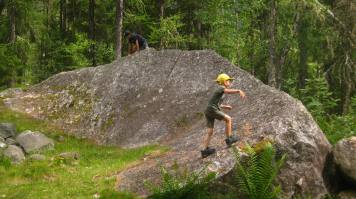 La moraine boulder © montblancfamilyfun.com