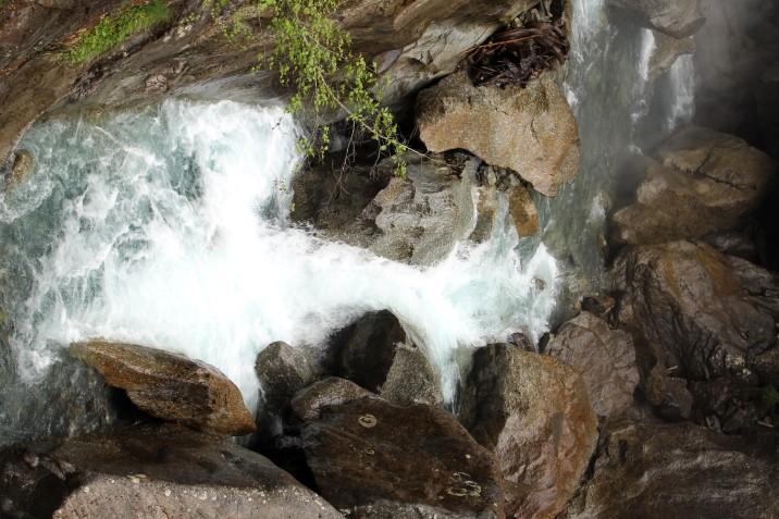 La Cascade de Bérard © montblancfamilyfun.com