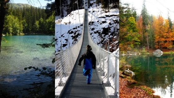 Passerelle Himalayenne to Lac Vert hike