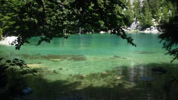 The ethereal Lac Vert - summer © montblancfamilyfun.com