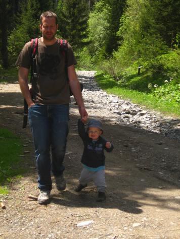 Sentier Découverte de la Forêt à Cordon - waddle, waddle, look at me smile! © montblancfamilyfun.com