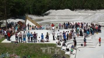 © Chamonix skatepark