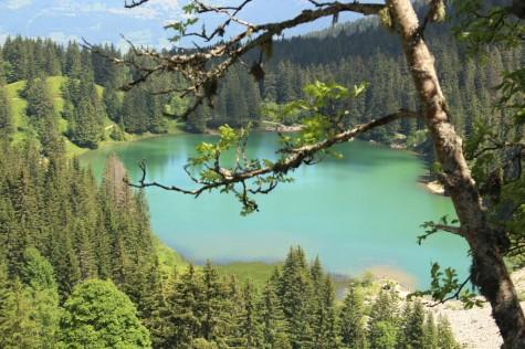 Lac Bénit © montblancfamilyfun.com