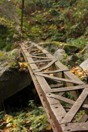 « Sur les traces des Graniteurs » in Combloux - autumn light © montblancfamilyfun.com