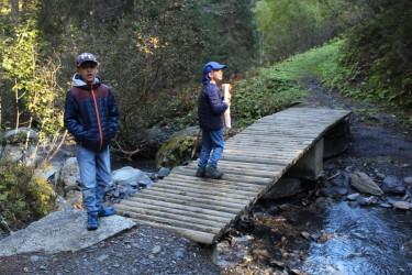 Sentier Découverte de la Forêt à Cordon © montblancfamilyfun.com