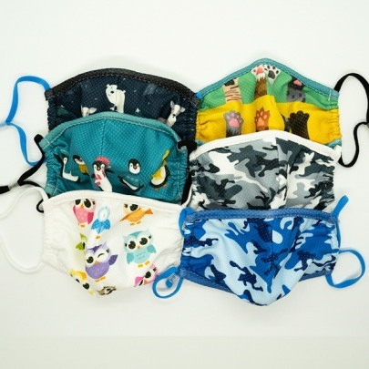 Face masks for kids © Wipeout