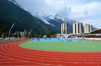 Chamonix Stade Olympique © mapio.net