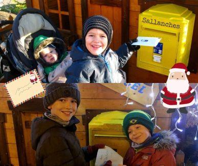 Sallanches Santa post-box © montblancfamilyfun.com