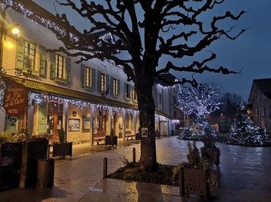 Yvoire in wintertime © Yvoire Tourisme