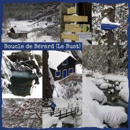 La Cascade de Bérard in winter © montblancfamilyfun.com