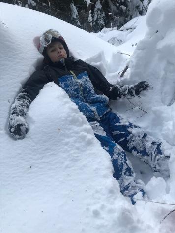 Plaine-Joux - fun in the snow © montblancfamilyfun.com