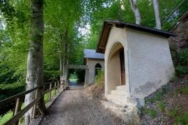 Chemin du Calvaire in Megève in summertime © Megève Mairie