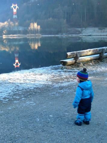 Lacs des Ilettes in wintertime © montblancfamilyfun.com