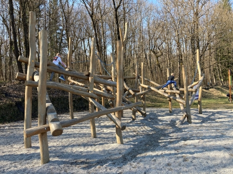 Lac de Passy playground © montblancfamilyfun.com