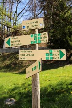 Le Chemin du Calvaire (Megève) © montblancfamilyfun.com