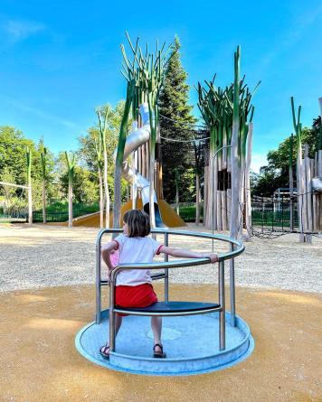 Aire de Jeux de la Batie © Les Petits Genevois