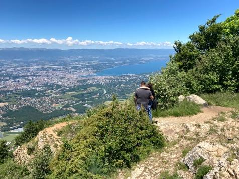 L'Observatoire - views (Salève) © montblancfamilyfun.com