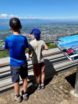 Téléphérique du Salève - panoramic viewing platform © montblancfamilyfun.com