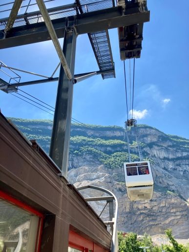 Téléphérique du Salève - departure station © montblancfamilyfun.com