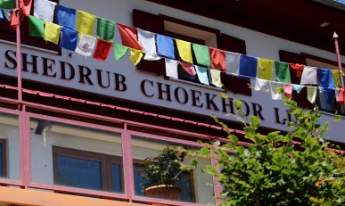 Centre Bouddhiste Shedrub Choekhor Ling © montblancfamilyfun.com